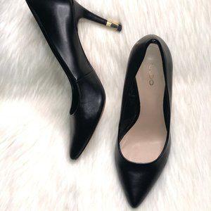 Aldo Women's Classic Black Pumps Heels